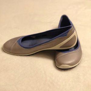 on feet images of how to buy beauty Ecco Biom Lite Ballerina Slip-on